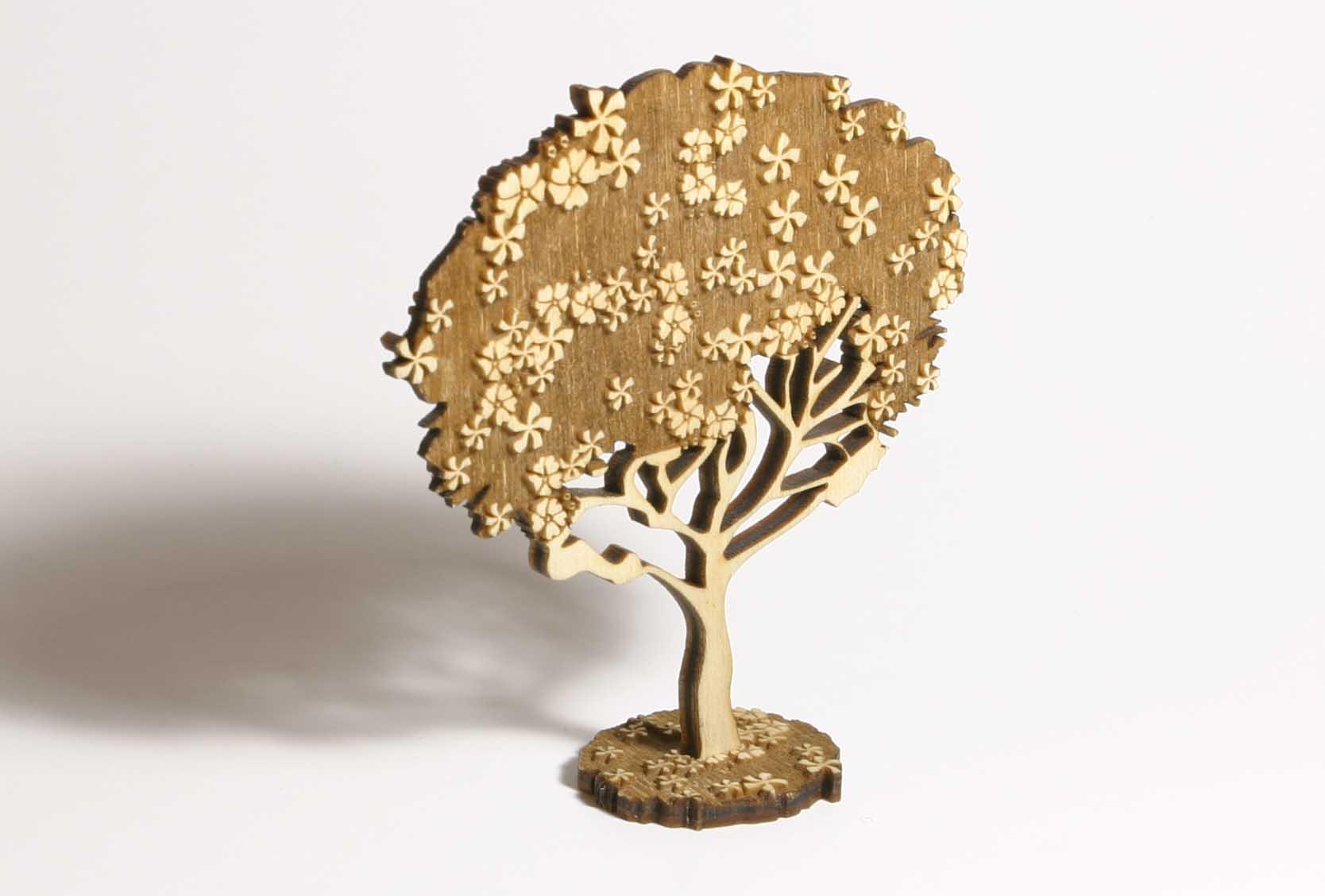 Как сделать деревья в макете фото