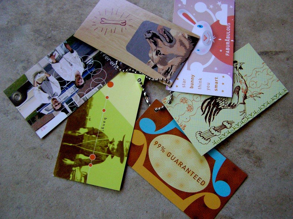 146Дизайн визиток самим